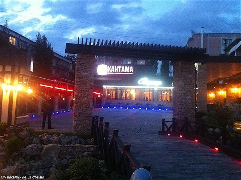 """""""хантама"""" ресторанно-гостинечный комплекс г.пятигорск."""